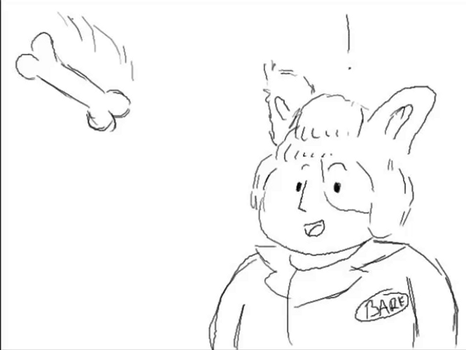 Animated Doodle - Barf by CherryGrabber
