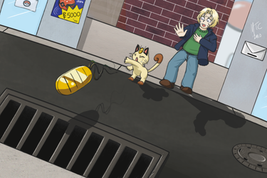 'You're no Meowth' by MaryCapaldi