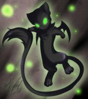 Dark Mew by Tartii