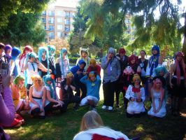 Kumoricon 2011- Vocaloid Group by Twins-Inc