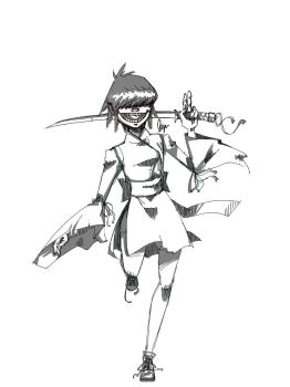 Noodle being traditional by Rserradx