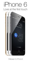 Love iPhone 6 at first touch by angeluson