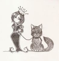 3. Queen Severus and her wolf by Severus-x-Remus-Club