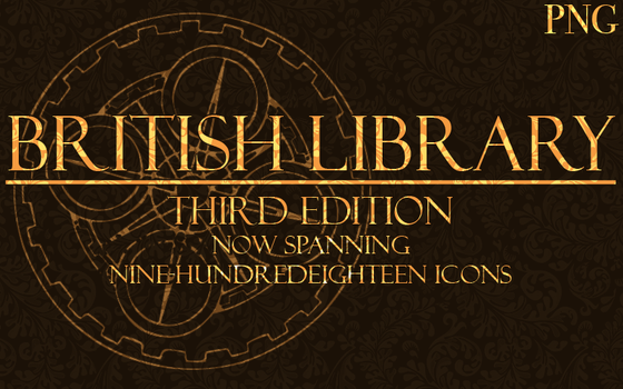 Icons of the Library 3 PNG by Samantha-Wright