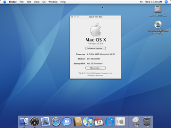 Mac OS X Desktop Screenshot by Bush1do