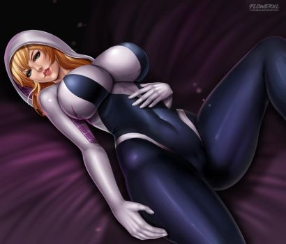Spider Gwen by Flowerxl