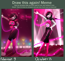 Draw this again meme by Stariaat