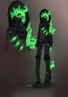 :Auction: Biohazard [Closed] by Spiritmydog-Adopts