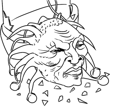 Colour-Your-Own Face of Boe by jinkies36
