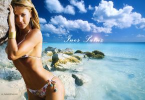 Ines Sainz by Hackercyar