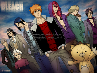 BLEACH - Boys by Jennaris