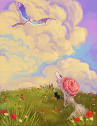 TWWM Plains Event: Wildflower Field by The-Monster-Shop
