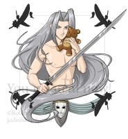 Bishie Villain: Sephiroth by jadress