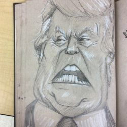 Donald J Trump by charlando