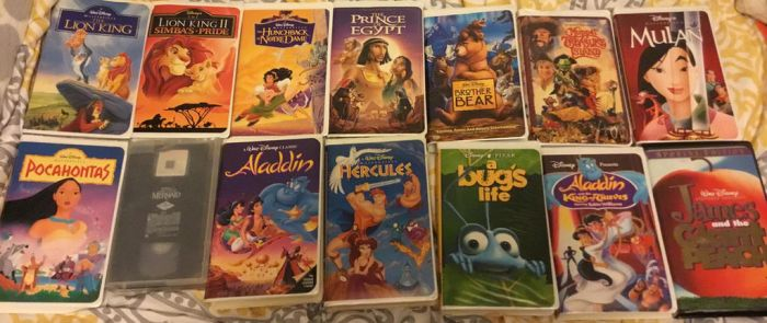 My Disney VHS Collection. Part 1. My Favorites. by lionqueen1067