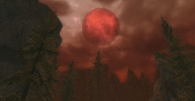 The Blood Moon by Shadow-Glassen