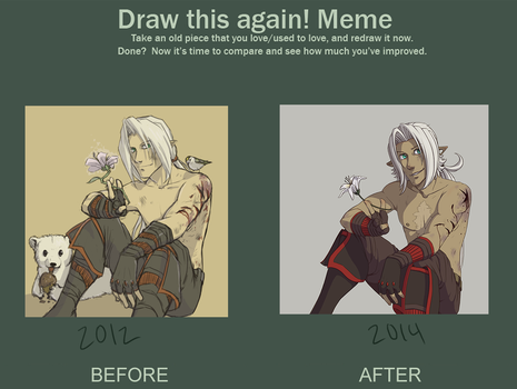 Draw This Again Meme~ by Embersign