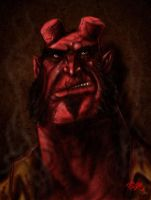 HELLBOY AIRBRUSH by themico