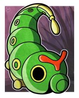 Caterpie by WhyDesignStudios