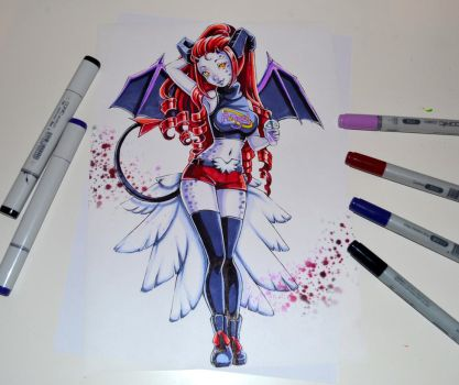 Angelic Succubus by Lighane