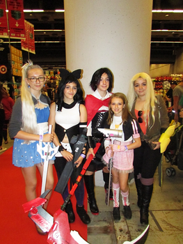 RWBY Group - Montreal Comic Con 2017 by J25TheArcKing
