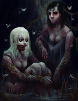 Swamp Citizens by Fy-yaa