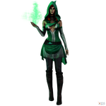 DC Unchained - Enchantress by MrUncleBingo
