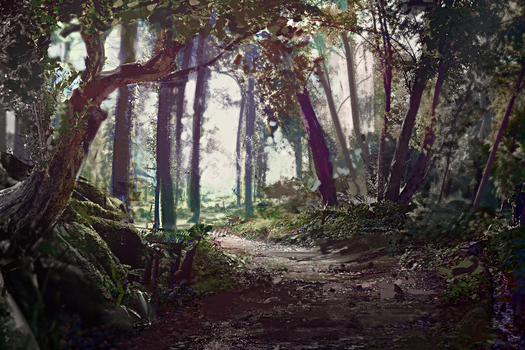 Composite forest by fluffySlipper