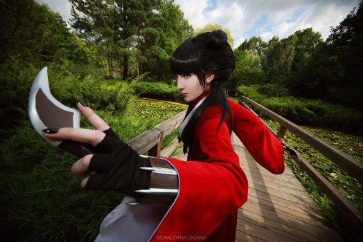 Ready to fight! Avatar: The last Airbender Mai by TheWisperia