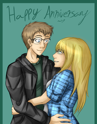 Happy Anniversary Love! by SlayersStronghold