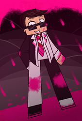 AU!YouTuber ~ Bodil40 by Dream-And-Believe