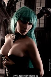 Geek and Sexy - Morrigan Boudoir Version by MorganaCosplay