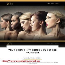 Nova-microblading-website-design by clarahaft