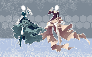 (CLOSED) Winter Inspired Outfits Adoptable 5-6 by JawitReen