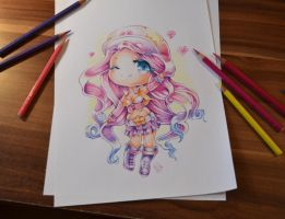 Sarah Fortune Chibi by Lighane