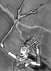 Keyleth, Tamer of Storms by malphas