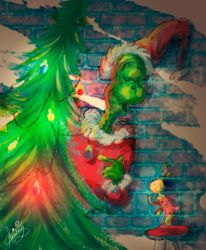 How the Grinch Stole Christmas by aburuham