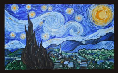 Tribute to Vincent van Gogh by Frollino