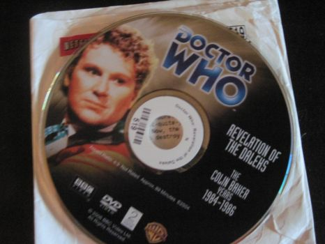 Doctor Who Revelation Of The Daleks 1985 DVD by EspioArtwork