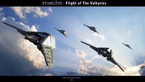 Stargate - Flight of The Valkyries by Mallacore