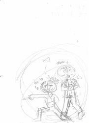[MNA] Chapter 3 Filler Sketch OLD by CassyHattori36