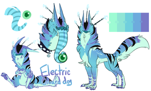 .:Cccat:. Electric guard dog by B1itzkrieger