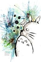 My Neighbor Totoro by Gezusfreek