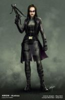 CW ARROW - Huntress by AndyPoonDesign