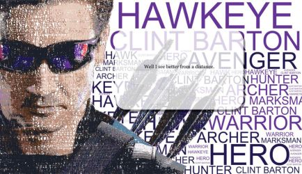 Hawkeye typography by ARTISTIC-SOLUTIONS