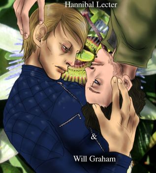Hannibal - Hannibal and Will by FuriarossaAndMimma