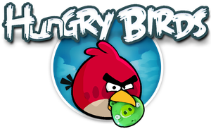 Hungry Birds - Angry Birds by ItaRoyaNx