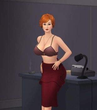 Joan Holloway by rplatt