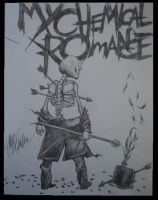 My Chemical Romance Drawing by DarkroomAnimations