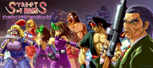 BARE KNUCKLE ~SYNDICATE WARRIORS~ by kamiomutsu